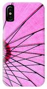 Under The Pink Umbrella IPhone Case