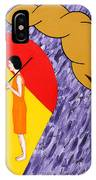 Under The Shelter Of Your Love IPhone Case