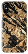 Unearthly World - Death Valley's Badlands IPhone Case