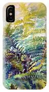 Unfurling Ferns IPhone Case
