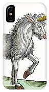 Unicorn, 1607 IPhone Case