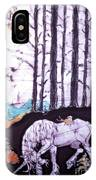 Unicorn Rests In The Forest With Fox And Bird IPhone Case