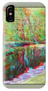 Unicorn Stream - Use Red-cyan 3d Glasses IPhone Case