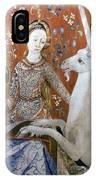 Unicorn Tapestry, 15th C IPhone Case