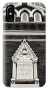 Union Gospel Tabernacle - Aka Ryman Auditorium IPhone X Case