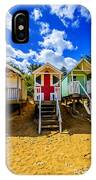 Union Jack Beach Hut 2 IPhone Case