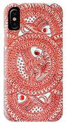Union Light Red IPhone Case