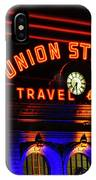 Union Station Lights IPhone Case