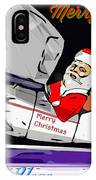 Unique Greets Original Holiday Greeting Card  IPhone Case