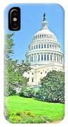 United States Capitol - Washington Dc IPhone Case