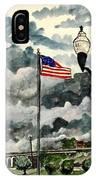 United States Flag Over Alabama IPhone Case