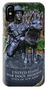 United States War Dog Memorial IPhone Case
