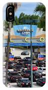 Universal Florida Parking Entrance IPhone Case
