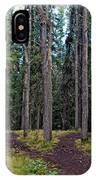 University Of Alaska Fairbanks Trail System IPhone Case