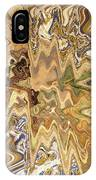 Unknown Paths Abstract Art IPhone Case