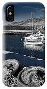 Unplugged At The Harbour - Toned IPhone Case
