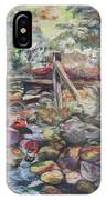 Unseated On Trout Brook IPhone Case