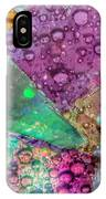 Untitled Abstract Prism Plates V IPhone Case