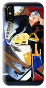 Untitled-collage Painting IPhone Case
