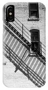 Up The Fire Escape Abstract IPhone Case