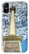 Up The Lovejoy Monument  IPhone Case