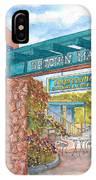 Sedona Up Town Mall In Sedona, California IPhone Case