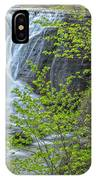 Upper Falls At Mine Kill State Park IPhone Case