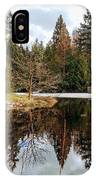 Upper Pond Reflections IPhone Case