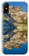 Upper Sardine Lake Panorama IPhone Case