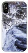Upper Taughannock Winter IPhone Case