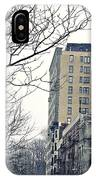 Upper West Side Winter IPhone Case