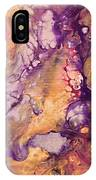 Upside Down Jellyfish And The Chicken Close Up IPhone Case