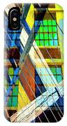 Urban Abstract 123 IPhone Case