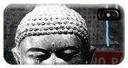 Urban Buddha 4- Art By Linda Woods IPhone Case