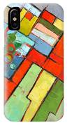 Urban Composition - Abstract Zoning Plan IPhone Case