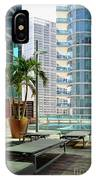 Urban Landscape, Miami, Florida IPhone Case