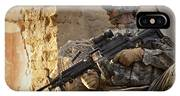 U.s. Army Ranger In Afghanistan Combat IPhone Case