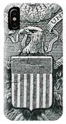 Us Dollar Eagle IPhone Case