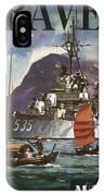 U.s. Navy Travel Poster IPhone Case