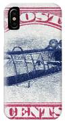 U.s. Postage Stamp, 1918 IPhone Case