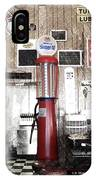 Us Route 66 Smaterjax Dwight Il Gas Pump 01 Pa 01 IPhone Case