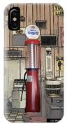 Us Route 66 Smaterjax Dwight Il Gas Pump 01 Pa 02 IPhone Case