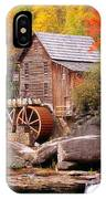 Usa, West Virginia, Glade Creek Grist IPhone Case