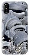 Used Tires At Junk Yard IPhone Case