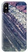 Utah Mountains High Altitiude Aerial Photo IPhone Case