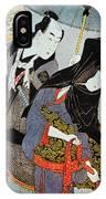 Utamaro: Lovers, 1797 IPhone Case