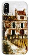 Utrillo: Montmagny, 1908-9 IPhone Case