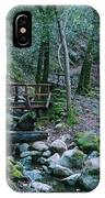 Uvas Canyon Bridge IPhone Case