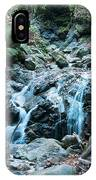 Uvas Canyon Waterfall I IPhone Case