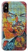 V. I. Ulyanov. Mosaic. Sochi Park. IPhone Case
